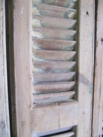 Louvre deur antiek dubbel.
