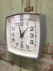 Retro clock gray
