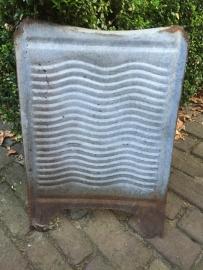 Oud zinken wasbord