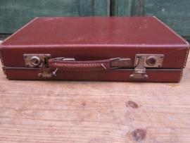 Brocante Franse koffer klein