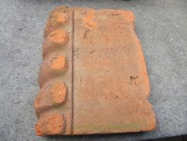 Antieke oude decoratie randen van terracotta