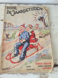 Oud leesboekje winter