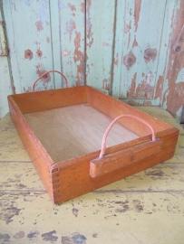 Vintage houten bak