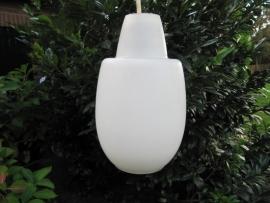 Wit glazen Retro lamp