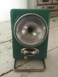 Oude metalen zaklamp
