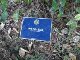 """Blikje """"Week-end"""""""