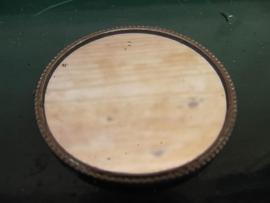 French Brocante small pocket mirror
