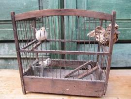 Brocant vogelkooitje