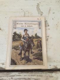 Oud mini boekje Kleine Vertellingen