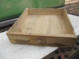 Frans brocante houten lade