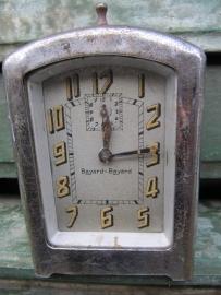 Hele oude rechthoekige wekker van Bayard-Bayard