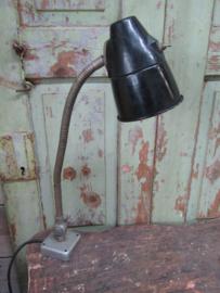 Oude zwarte lamp