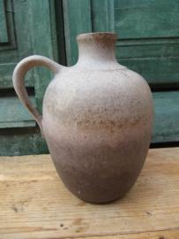 Brocante aardewerk kan/kruik