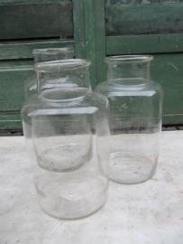 Glazen bokaal van 5 liter