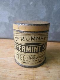 Antiek blikje peppermint