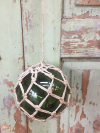 Brocante glazen drijver