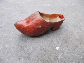 Grappig oud brocante klompje