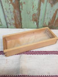 Vintage houten kistje/bakje