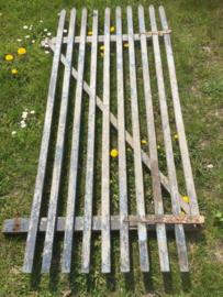 Antiek houten hek