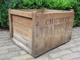 Houten kist van Chicorée Trappistes Vincart