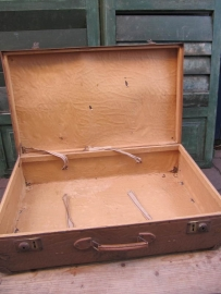 Brocante Franse koffer groot