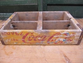 Oud cocacola kistje
