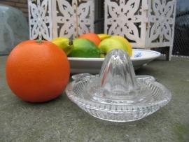 Brocante glazen citruspers