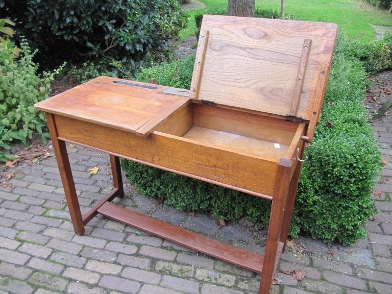 Verwonderlijk Hele mooie oude dubbele houten schoolbank | Recent verkocht / Sold QJ-44
