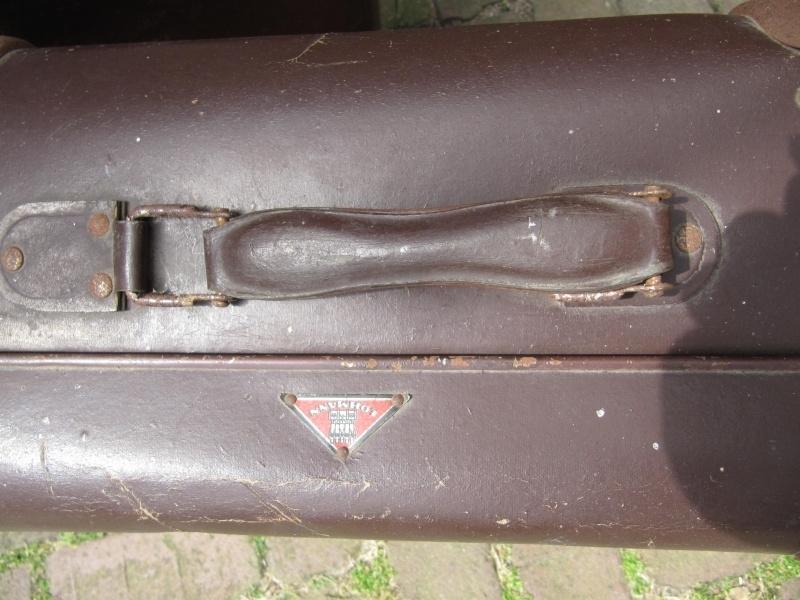 Brocante bruine koffer