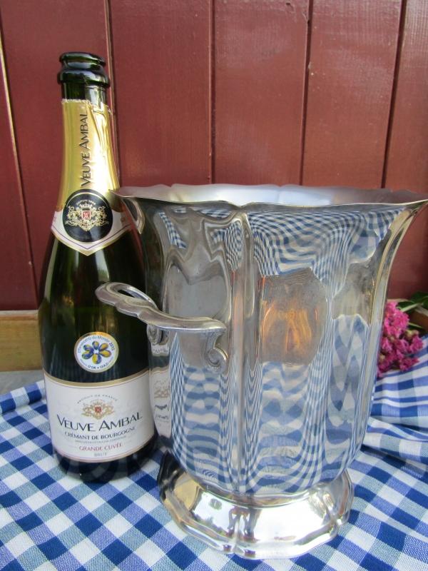 Brocante champagnekoeler