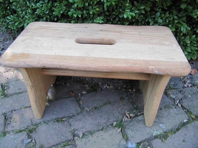 Verbazingwekkend Leuk houten voetenbankje | Recent verkocht / Sold | brocantefrederic RP-88