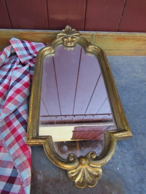 Franse oude spiegel