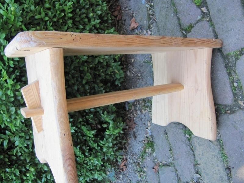 Verwonderend Leuk houten voetenbankje | Recent verkocht / Sold | brocantefrederic UH-48