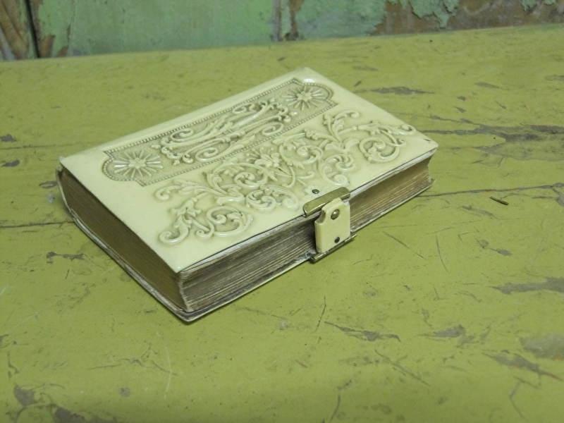 Antiek Frans kerkboekje