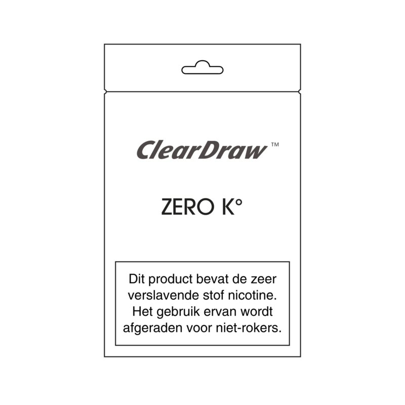 ClearDraw Zero K° cartridge