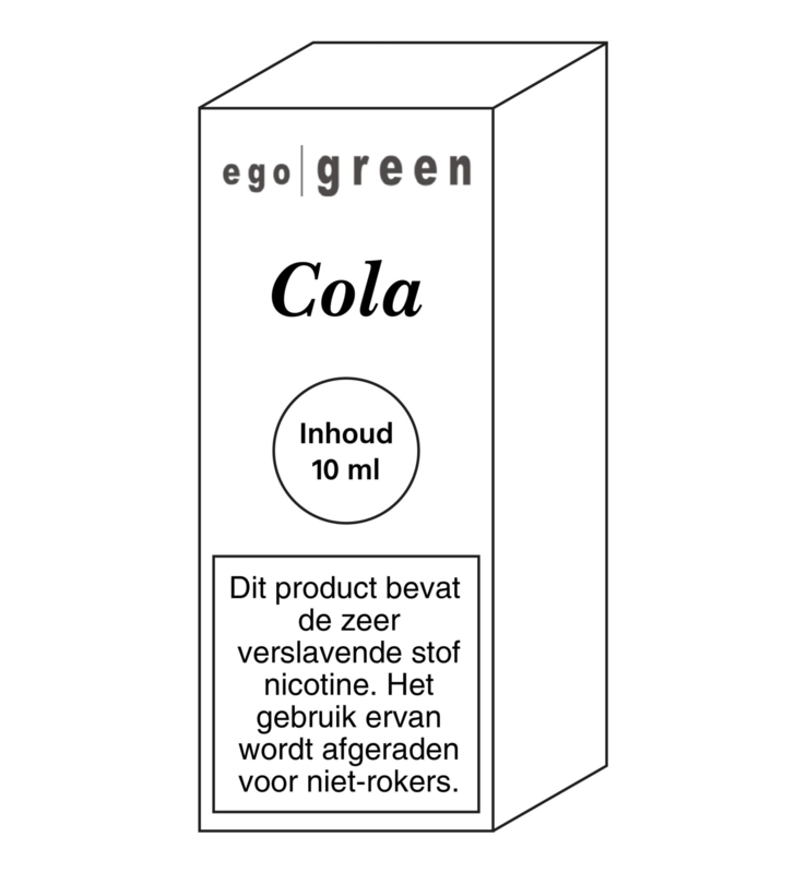 Ego Green liquid Cola