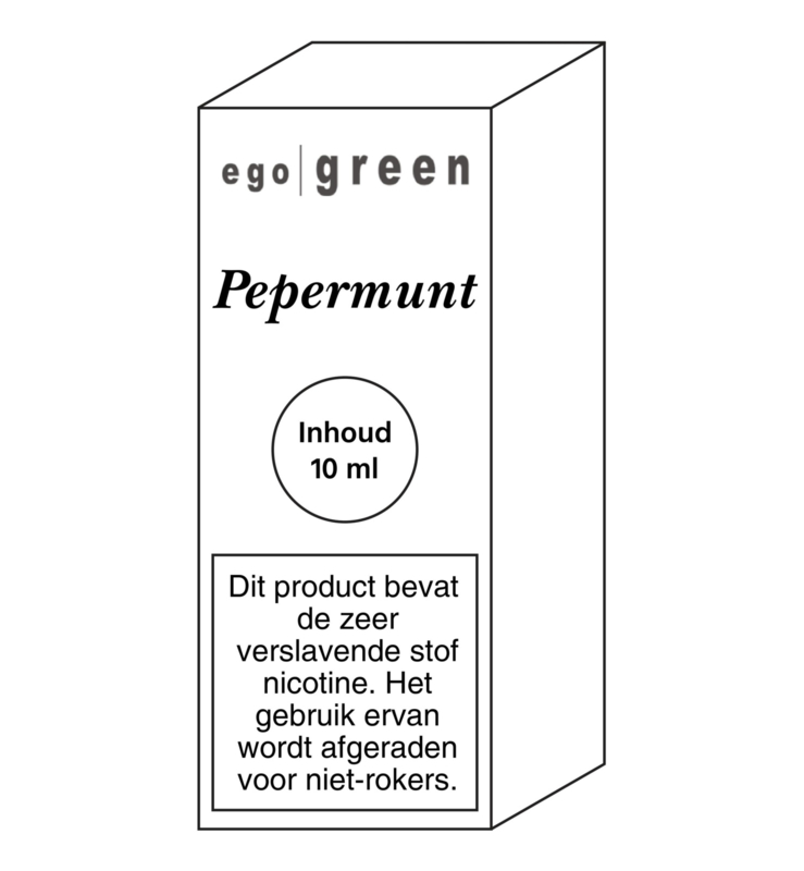Ego Green liquid Pepermunt