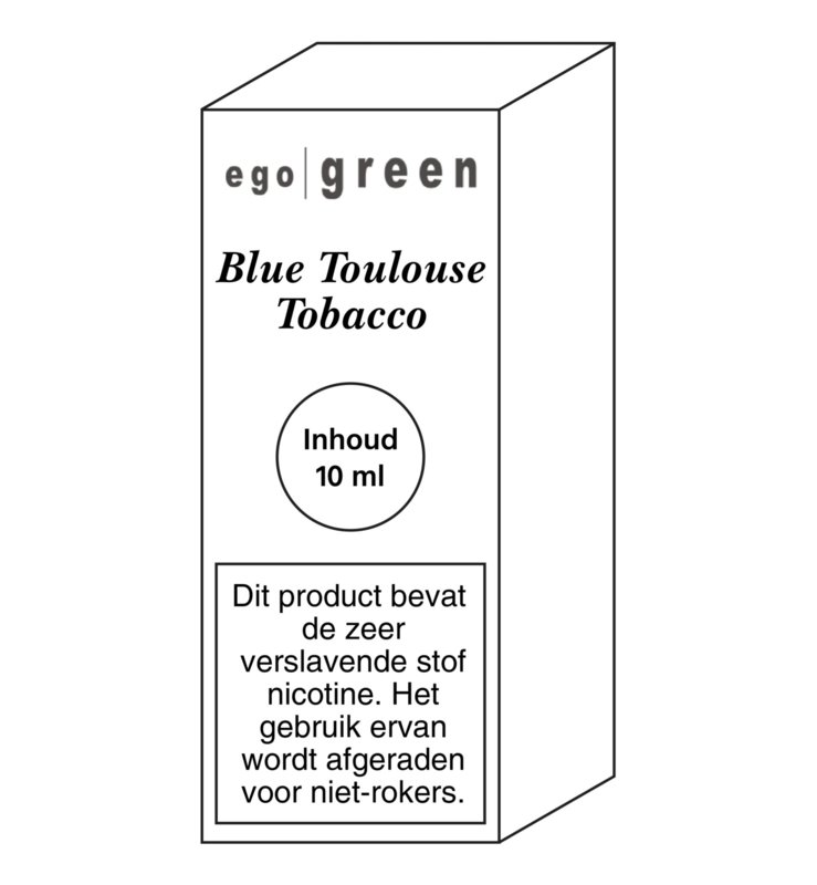 Ego Green liquid Blue Toulouse Tobacco