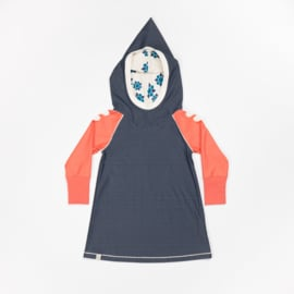 Jurk Albababy, Hope Hood Dress Mood Indigo 86 of 98
