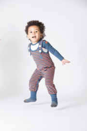 Jumpsuit / playsuit Albababy, Hedashy Crawlers Dark Denim Striped 68