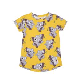 T-shirt Mullido, Koala yellow