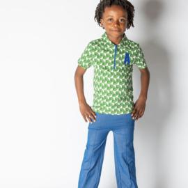 Broek Albababy, Hecco Box Pants Solidate Blue 86 of 122