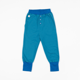 Broek Albababy, Button Pants Blue Sapphire