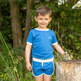 Short Albababy, Jasmin shorts Snorkel Blue
