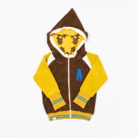 Hoodie Albababy, Robin Zipper Hoodie Ceylon Yellow