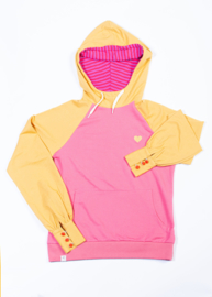 Hoody Ladies AiA all I adore by Alba of Denmark, My Favorite Hoodie Bright gold