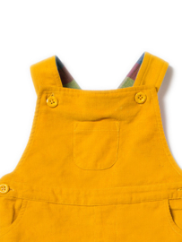 Dungeree, overall Little Green Radicals, Gold classic Corduroy met lining!