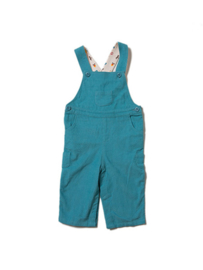 Dungeree, overall Little Green Radicals, Mountain Blue classic Corduroy met lining! 12-18mnd 86
