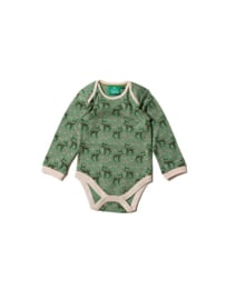 Romper / Body set Little Green Radicals, Forest Doe two pack