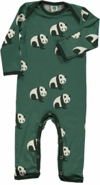 Jumpsuit / bodysuit Smafolk, panda HunterGreen 68 of 74